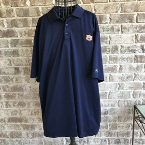 Auburn University Polo Shirt 2XL Under Armour NWOT